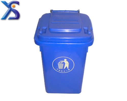 Plastic garbage can mould